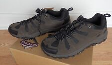 50 PEAKS Men's Hiking Shoes~Hiker Suede Low~Choose Size/Color:Taupe or Charcoal