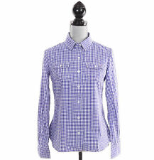 Tommy Hilfiger Women Long Sleeve Plaid Check Button Down Shirt - Free $0 Ship