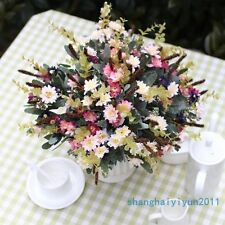 1 Bouquet Artificial Small Chrysanthemum Daisy Silk Flower  NO VASE F191