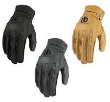 Icon Mens 1000 Rimfire Street Motorcyce Leather Gloves