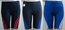 SPEEDO black or blue stripe sport racer swim Quantum Spliced jammer, 30,32,34,36