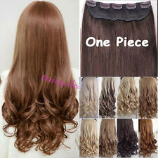 """longest 17-27"""" From USA real high quality 3/4 full head clip in hair extensions"""