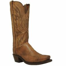 LADIES LUCCHESE MAD DOG GOAT LEATHER WESTERN COWGIRL BOOT N4540.74-NEW IN BOX!