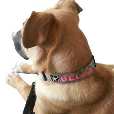 Army Personalized Dog Collar
