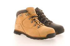 MENS SAFETY WORK BOOTS HIKING WALKING LEATHER BOOTS GROUNDWORK fab31 RRP45.99