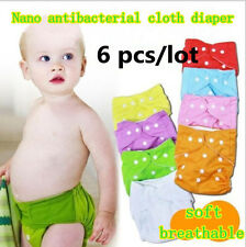 Cloth nappy,Reusable Washable Baby Cloth Nappies Nappy Diapers (Diapers+Inserts)