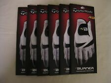 "New (6-Pack) TaylorMade Burner ""B"" Mens Golf Gloves *Pick Size & Hand*"