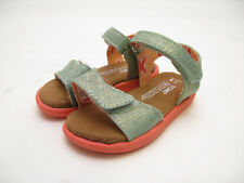 TINY TOMS SANDAL BLUE SHIMMER TODDLER 10001870