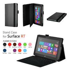 """PU Leather Case Cover for Microsoft Surface Windows 8 RT 2 10.6"""" Keyboard Holder"""