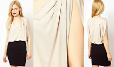 SALE New Ladies ex French Connection Annabella Drape Party Dress Size 8-14