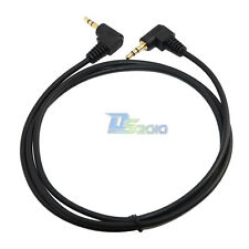 3Ft 6Ft 1M 1.8M 3.5mm angle mini plug stereo Aux audio Headphone Extension cable