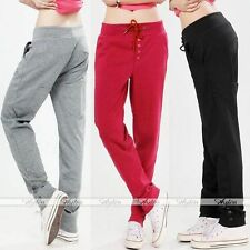 Hot Fashion Womens Casual Drawstring Sweatpant Yoga Sports Harem Pants Trousers