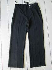 Dunnes stores black crepe or lilac twill tailored trousers Size 16 New