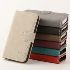 Hot Sale For Apple iPhone 4G 4S Matte Leather Flip Wallet Pouch Skin Case Cover