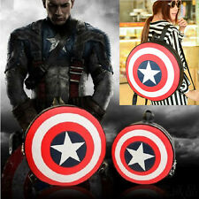 Fashion Avengers Captain America Shield School Student Backpack Book Bag New