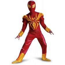 Ultimate Iron Spider-Man Classic Muscle Costume Kids Spider-Man Halloween