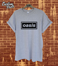 * OASIS T SHIRT TOP ALBUM COVER RETRO INDIE 90S MUSIC BAND MENS ROCK FACEDOWN