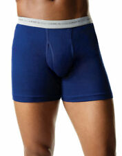 Hanes Men's 100% Cotton Fully Functional Fly Boxer Brief, 2-Pack. 7349VT