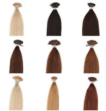All Size 1g/s Pre Bonded Real Human Hair Extensions Stick Tip I Tip 100g/Pack