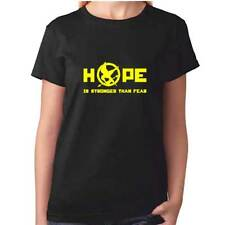 Hope Is Stronger Than Fear Tshirt - Hunger Games Ladies Womens Girls DVD Movie