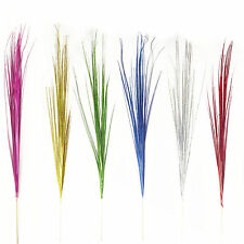 Shiny Glittery 90cm Holographic Onion Bear Grass Stem in 6 Colours