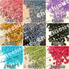 1/3ct Acrylic Diamond Confetti for Wedding Decoration Table Scatters 4.5mm