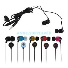 A#S0 Universal Metal Stereo In-ear Headphone Earphone for Phone PC with Mic