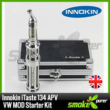 GENUINE INNOKIN iTaste 134 APV VW MOD Starter Kit - Full Kit in Black or Silver!