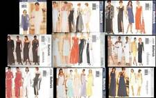 OOP Butterick Sewing Pattern Misses Evening Gown Formal High Fashion You Pick
