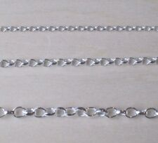 "925 Sterling Silver Belcher 1.5 - 3.2mm Bracelet Necklace Anklet Chain 6"" - 22"""