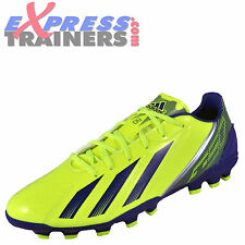 Adidas Mens F10 TRX AG Moulded Studs Football Boots Yellow * AUTHENTIC *