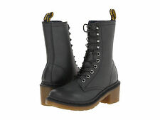 Dr. Martens Women's Casey Lucie style Boots BLACK Darkened Mirage ALL SIZES!!!