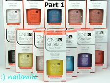 CND Shellac UV/LED Gel Polish Base Top Coat /Choose Any Shellac Colours / PART 1