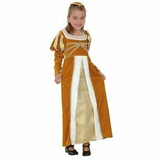 Girls Regal Princess Josephine Medieval Tudor Fancy Dress Costume – CC701