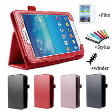 "Folio Leather Case Cover Stand For Samsung Galaxy Tab 4 7.0""  Tablet SM-T230"