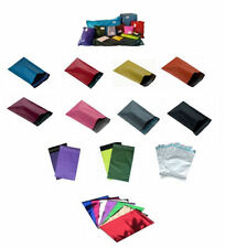 """Mixed Pack of 15 Coloured Mailing Postal Bags 6.5 x 9"""" (165x230mm) Your Choice"""