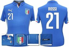 *14 / 16 - PUMA ; ITALY HOME SHIRT SS / ROSSI 21 = SIZE*