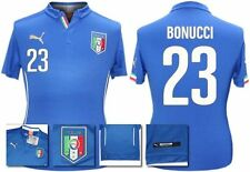 *14 / 16 - PUMA ; ITALY HOME SHIRT SS / BONUCCI 23 = KIDS & JUNIOR SIZE*