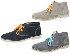 Wrangler Mens Leather suede Churlish lace up desert ankle boots