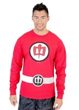 Adult Red Comedy TV Show Greatest American Hero Long Sleeve Costume T-Shirt Tee