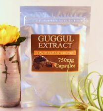 GUGGUL EXTRACT 750mg (10%Guggulsterone-75mg and 2.5% Z&E Guggulsterone)