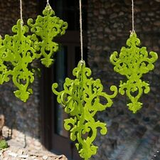 Wedding Reception Decorative Lanterns & Hanging Artificial Moss Chandelier