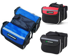 Cycle Bicycle Bike Rain Dust Cover Waterproof Front Tube Double Side Pannier Bag