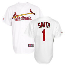 2014 Ozzie Smith St Louis Cardinals Home (White) Replica Jersey Men's (S-2XL)