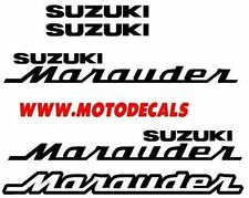 Marauder Gas Tank Side Cover Decals Stickers Fender Tank Emblems Graphics Kit
