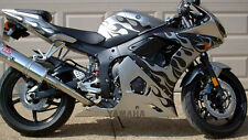 Tribal Flame Decal Kit for GSXR CBR 600 R6 R1 ZX6R Fender Tank Emblems Graphics