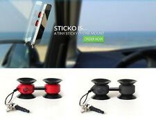 STICKO Car Cell Phone Mobile Mount Holder Air Vent Stand for Iphone Ipod Samsung