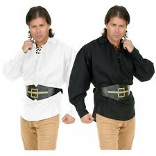 Unisex Buccaneer Pirate Shirt Costume Medieval Renaissance LARP Fancy Dress
