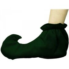 Green Elf Shoe Covers Costume Accessory Adult Jester Christmas
