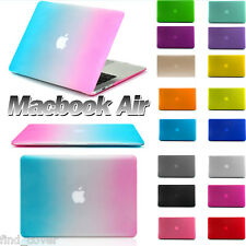 """Brand New Apple Macbook Air 11"""" 13""""Case Matte Frosted Rubberized Hard Case Cover"""